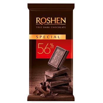 Roshen Classic Dark Chocolate 56% 90g