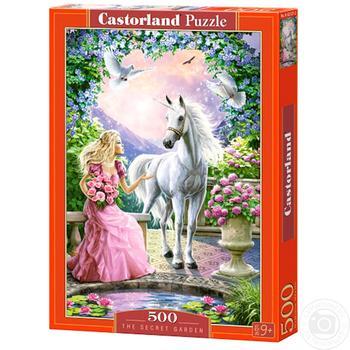 Іграшка-Пазл Castorland 500 тварини - купити, ціни на Ашан - фото 2