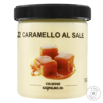 Морозиво La Gelateria italiana солена карамель 330г - купити, ціни на Метро - фото 1