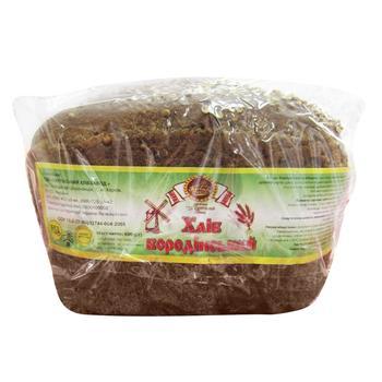 Bread Saltiv bakery Borodinska rye 600g Ukraine - buy, prices for Tavria V - image 1