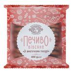 Печиво вівсяне Богуславна  зі шматочками глазурі 400г
