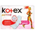 Прокладки Kotex Active Супер плюс сеточка 7шт