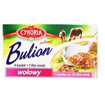 Бульон Cykoria говяжий 6 кубиков 60г