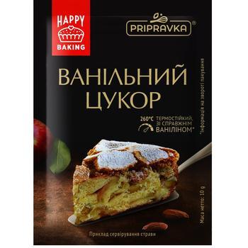 Термостойкий ванильный сахар Pripravka 10г - купить, цены на СитиМаркет - фото 1