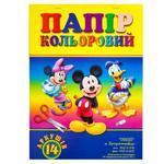 Бумага Тетрада Disney цветная А4 14 листов