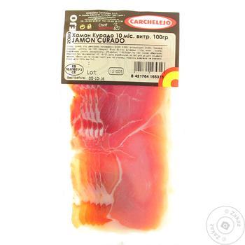 Carchelejo Curado Slice Jamon - buy, prices for CityMarket - photo 1