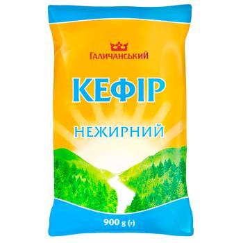 Кефір ГаличанськиЙ Нежирний 900г - купити, ціни на Метро - фото 1