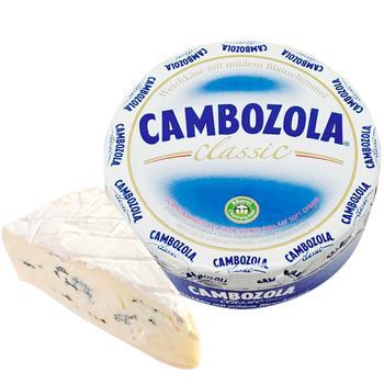 Сыр Kaserei Cambozola с белой и голубой плесенью 70% весовой