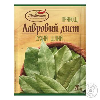 Ljubystok Selective Dry Bay Leaf 20g