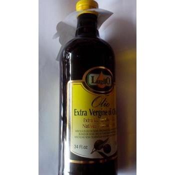 Олія оливкова нерафінована першого віджиму Luglio, скло, 1000 мл