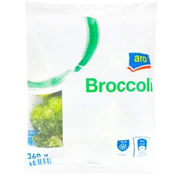 Брокколі Aro свіжозаморожена 400г