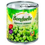 Горошек Бондюэль зеленый консервированный 212мл