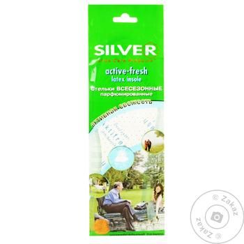 Silver Active Fresh All Season Perfumed Insoles - buy, prices for Tavria V - image 1