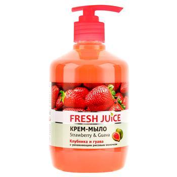 Мыло жидкое Fresh Juice Strawberry&Guava 460мл
