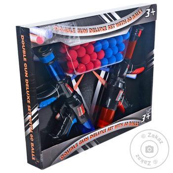 Набір пістолетів Double Gun Deluxe Set з кульками 60шт