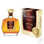 Cognac Shabo Grande 40% 500ml glass bottle