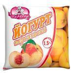 Йогурт Заречье персик 1,5% 400г
