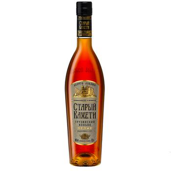 Staryi Kakheti 5 stars Cognac 40% 0,5l - buy, prices for CityMarket - photo 1