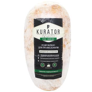Мясо цыпленка бройлера Kurator Гурман для шаурмы замороженное 5кг