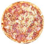 Пицца Баварская три мяса 500г