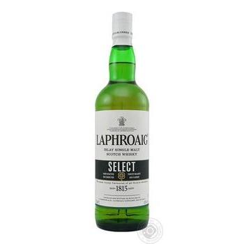 Виски Laphroaig Select 40% 0,7л - купить, цены на Ашан - фото 1