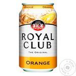 Напиток газированный Royal Club апельсин 0.33л