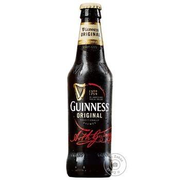 Пиво Guinness Original темное 5% 0.33л