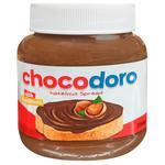 Крем Chocodoro из лесных орехов с какао 350г