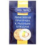 Приправа Santa Maria лимонная к рыбным блюдам 23г