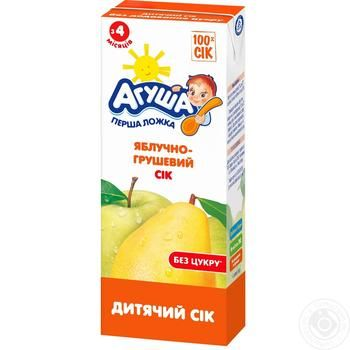 Agusha For Children From 4 Month Apple-Pear Juice 200ml