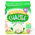 Malenkoye Schastye Cauliflower Puree 80g