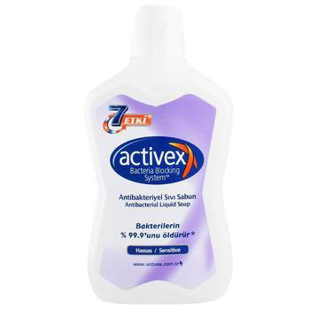 Жидкое мыло Activex Антибактериальное для чувствительной кожи 700мл