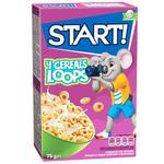 Сухие завтраки Start! зерновые кольца зерновые глазированные 75г