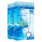 Презервативы Freestyles Ultra Light 12шт