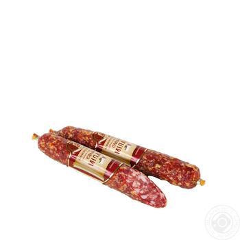 Колбаса Салями Милано Фарро Кременчугмясо сыровяленая высший сорт