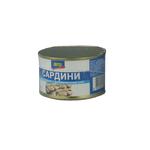 Сардины Аро натуральные с добавлением масла 230г Украина