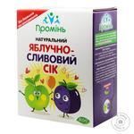 Сок Промінь яблочно-сливовый 3л