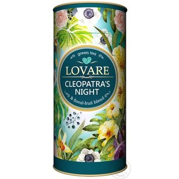 Lovare Night Of Cleopatra Flowers and Fruits Green Tea - buy, prices for MegaMarket - image 1