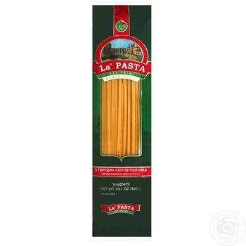 Макаронные изделия La Pasta спагетти 400г