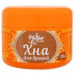 Хна порошковая Mayur для бровей светло-коричневая 10г - купить, цены на Varus - фото 1