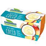Granarolo Vegetable Coconut Yogurt with Mango Pieces 2x125g