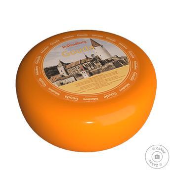 Сыр Hollandburg Гауда Голландия 50%