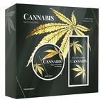 Подарочный набор Liora Cannabis Revitalizing Скраб-маска для тела 80мл + Крем для тела 140мл