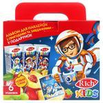 Rich Kids Juice in Assortment 6pcs x 0.2l + Sticker Book
