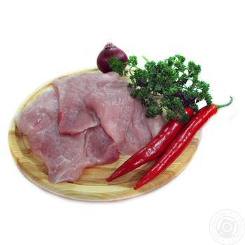 Шницель свиной охлажденный
