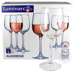 Набор бокалов для вина Luminarc Аллегресс 6*230мл шт