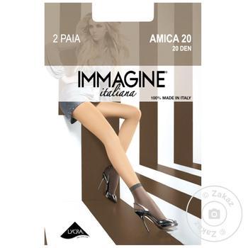 Носки Immagine Amica женские neutro 20ден
