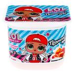 Йогурт Danone Колекція полуниця-карамель 2% 125г