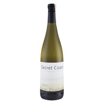 Вино Secret Coast Sauvignon Blanc белое сухое 12.5% 0,75л - купить, цены на УльтраМаркет - фото 1