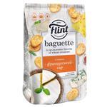 Сухарики Flint Baguette пшеничные со вкусом французского сыра 110г